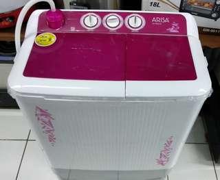 Mesin Cuci 2 Tabung ARISA 6Kg