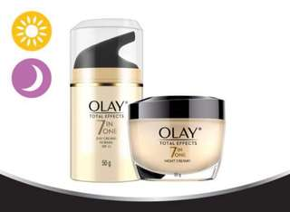Olay Total Effects 7 in 1 Day and Night Cream 50g