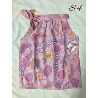 (S4)- Girl's Batik Top