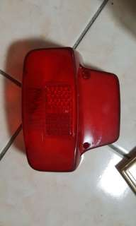 Tail light cover vespa nos