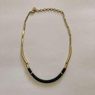 STELLA & DOT Leather Necklace