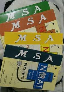 MSA NMAT bundle reviewers