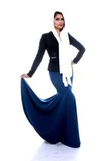 Skirt Meara (NavyBlue)