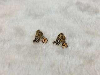 Agnes b. 925 純銀 水晶 耳環 Crystal Earrings