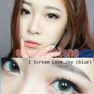 i scream love blue