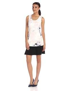 Ellen Tracy | Dream Pixel Petal Dress