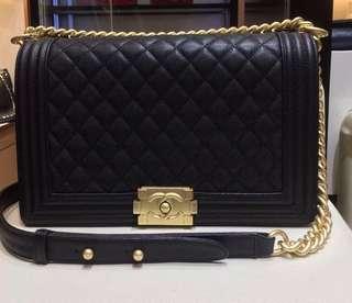 Chanel Black Le Boy New Medium