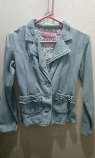 Blue Culduroy Jacket