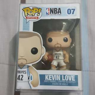 Legit Brand New With Box Funko Pop Sports NBA Kevin Love Minnesota Timberwolves Toy Figure