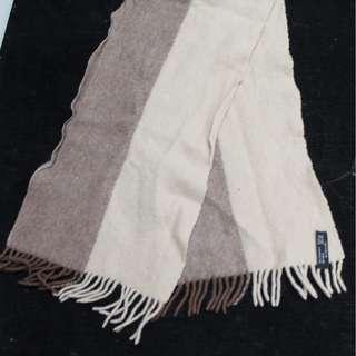 保暖頸巾 10%cashmere 90%wool