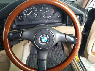 Bmw steering wood e30 e32 e34 gear knob manual wood