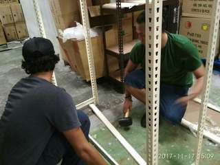 RACKING/SHELVING/STORAGE WE PROVIDE ASSEMBLY & DELIVERY