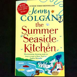 The Summer Seaside Kitchen by Jenny Colgan (romance chicklitbook)