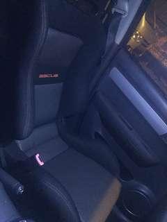 SSCUS Semi Bucket Seats