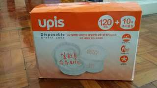 1 box thick Breast pads