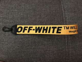 Off White key Chain