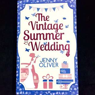 The Vintage Summer Wedding By Jenny Oliver (chicklit romance book)