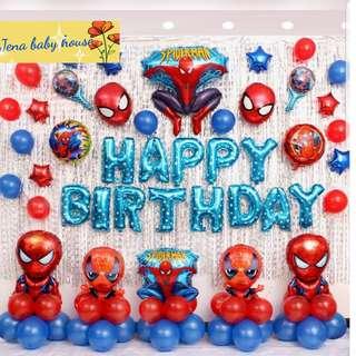 Birthday Balloons set instock