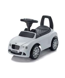 White Bentley Kids Ride On Car
