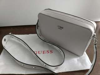 Guess Whitish-pink Crossbody Bag