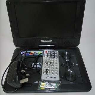 "Hyundai 9"" 手提TV/DVD播放機 HYPD-999"