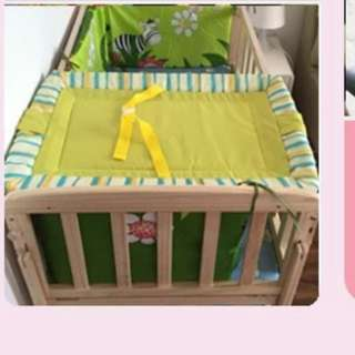 Baby changing diaper board (green colour)