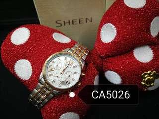 Casio Sheen Steel Women