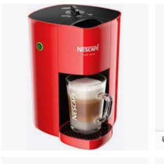 Nescafe red mug coffee maker