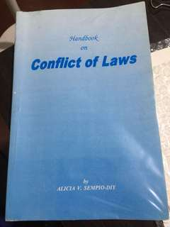 conflicts of law book