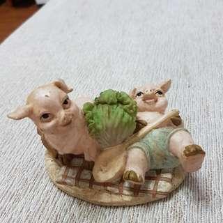 🚚 豬擺飾~歐洲購入