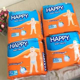 BN happy pants diaper xl