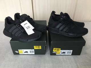 Adidas NMD Triple Black Size 8.5US & 9US