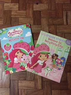 Strawberry Shortcake Books Bundle