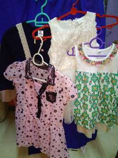 Girl Dresses Bundle Set