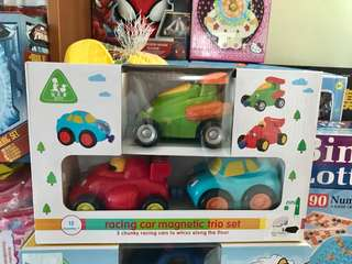 Magnetic toy car