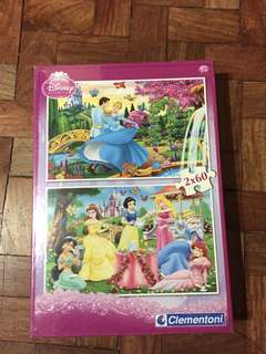 Disney Princess 2 in 1 Puzzle Pack