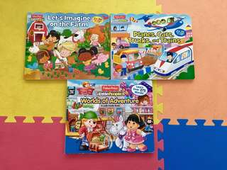 Assorted 3D children's flip books