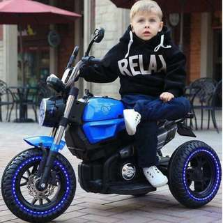 3 Wheel Harley Davidson Ride On Toy Motorcycle for Kids