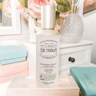 The face shop le marche the therapy first serum • anti aging formula premiere serum • authentic
