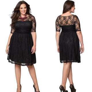 Large/Xlarge Lace Dress