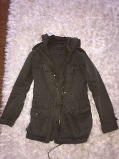 TALULA army green jacket