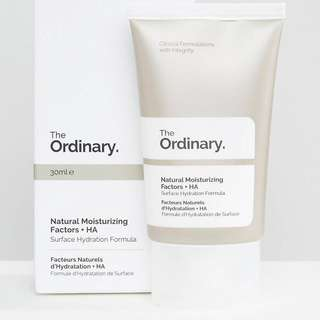 Natural Moisturizing Factors + HA The Ordinary