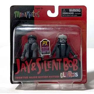 SDCC 2013 Jay & Silent Bob Previews Exclusive Minimates 2-Pack