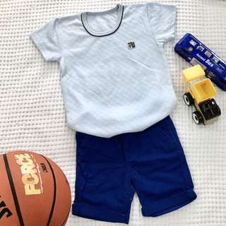 Kids T-shirt 3-4Y (Light Blue )