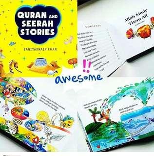 Quran and Seerah Stories book
