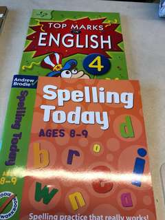 Grade 4 English comprehension and spelling