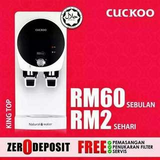 Cuckoo King Top RM60 Sebulan