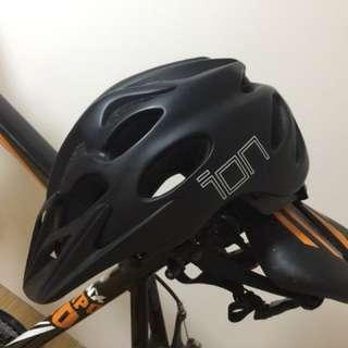 Road bike + head gear.