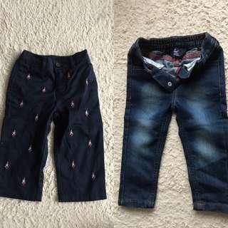 Polo 童褲 x 2 (購自英國)(新)未著過