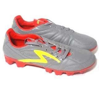 Sepatu Bola Specs Bold Fg - Dk Cool Grey/Emperor Red/Fresh Yellow